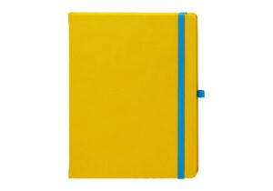 Agenda personalizata Notebook PRO 13x21 galben