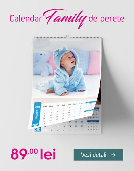 Calendar de perete Family