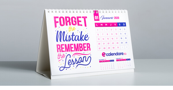 Calendare personalizate A5