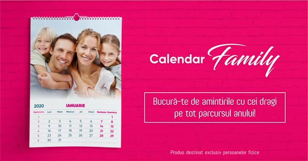 Calendar cu poze
