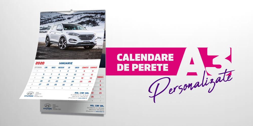 Calendare A3 de perete
