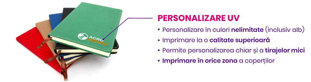 Personalizare Agende UV