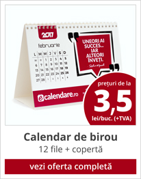 pret calendare birou