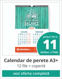 pret calendare perete