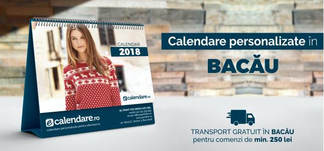 calendare personalizate Bacau
