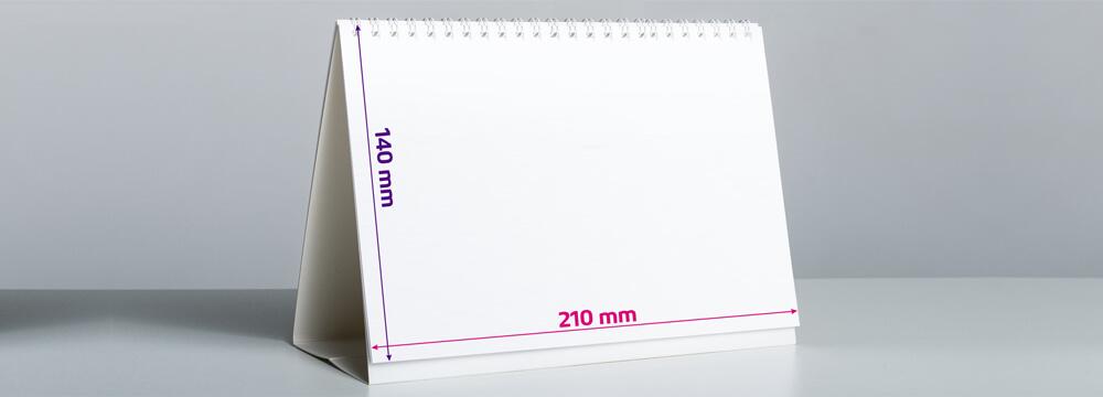 Dimensiuni calendar A5
